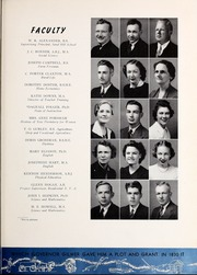 Page 17, 1940 Edition, University of West Georgia - Chieftain Yearbook (Carrollton, GA) online yearbook collection