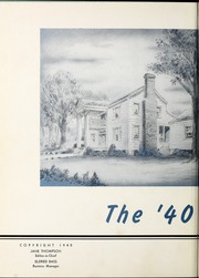 Page 6, 1940 Edition, University of West Georgia - Chieftain Yearbook (Carrollton, GA) online yearbook collection