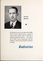 Page 9, 1940 Edition, University of West Georgia - Chieftain Yearbook (Carrollton, GA) online yearbook collection