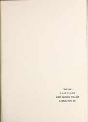 Page 5, 1942 Edition, University of West Georgia - Chieftain Yearbook (Carrollton, GA) online yearbook collection