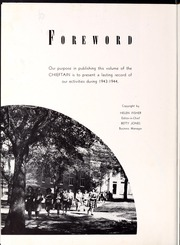 Page 8, 1944 Edition, University of West Georgia - Chieftain Yearbook (Carrollton, GA) online yearbook collection