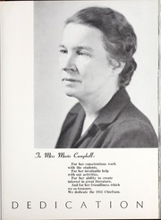 Page 13, 1951 Edition, University of West Georgia - Chieftain Yearbook (Carrollton, GA) online yearbook collection