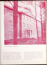 Page 17, 1952 Edition, University of West Georgia - Chieftain Yearbook (Carrollton, GA) online yearbook collection