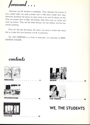 Page 10, 1957 Edition, University of West Georgia - Chieftain Yearbook (Carrollton, GA) online yearbook collection