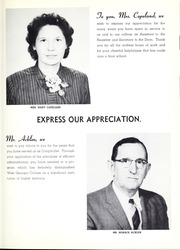 Page 11, 1957 Edition, University of West Georgia - Chieftain Yearbook (Carrollton, GA) online yearbook collection