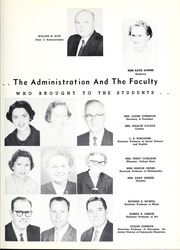 Page 15, 1957 Edition, University of West Georgia - Chieftain Yearbook (Carrollton, GA) online yearbook collection