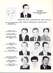 Page 16, 1957 Edition, University of West Georgia - Chieftain Yearbook (Carrollton, GA) online yearbook collection