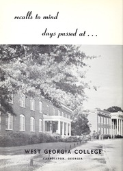 Page 6, 1957 Edition, University of West Georgia - Chieftain Yearbook (Carrollton, GA) online yearbook collection