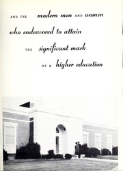 Page 9, 1957 Edition, University of West Georgia - Chieftain Yearbook (Carrollton, GA) online yearbook collection