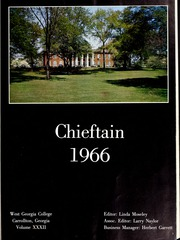 Page 5, 1966 Edition, University of West Georgia - Chieftain Yearbook (Carrollton, GA) online yearbook collection