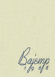 1938 Edition, Cooper Hall - Bajemp Yearbook (Rome, GA)