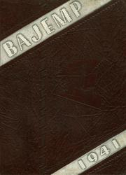 1941 Edition, Cooper Hall - Bajemp Yearbook (Rome, GA)