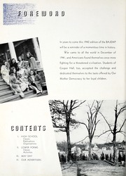 Page 10, 1942 Edition, Cooper Hall - Bajemp Yearbook (Rome, GA) online yearbook collection