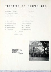 Page 8, 1942 Edition, Cooper Hall - Bajemp Yearbook (Rome, GA) online yearbook collection