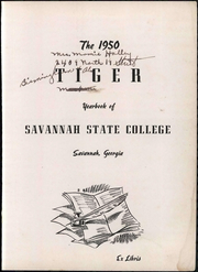 Page 9, 1950 Edition, Savannah State University - Tiger Yearbook (Savannah, GA) online yearbook collection