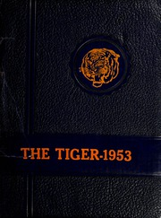 Page 1, 1953 Edition, Savannah State University - Tiger Yearbook (Savannah, GA) online yearbook collection