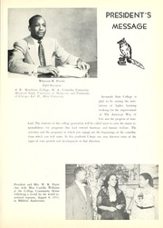 Page 9, 1953 Edition, Savannah State University - Tiger Yearbook (Savannah, GA) online yearbook collection