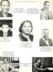 Page 14, 1954 Edition, Savannah State University - Tiger Yearbook (Savannah, GA) online yearbook collection