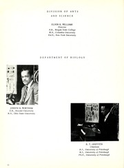 Page 16, 1954 Edition, Savannah State University - Tiger Yearbook (Savannah, GA) online yearbook collection