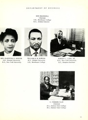 Page 17, 1954 Edition, Savannah State University - Tiger Yearbook (Savannah, GA) online yearbook collection
