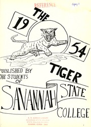 Page 5, 1954 Edition, Savannah State University - Tiger Yearbook (Savannah, GA) online yearbook collection
