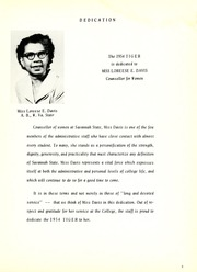 Page 9, 1954 Edition, Savannah State University - Tiger Yearbook (Savannah, GA) online yearbook collection