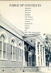 Page 7, 1962 Edition, Savannah State University - Tiger Yearbook (Savannah, GA) online yearbook collection