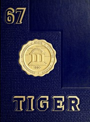 Page 1, 1967 Edition, Savannah State University - Tiger Yearbook (Savannah, GA) online yearbook collection