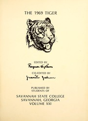 Page 5, 1969 Edition, Savannah State University - Tiger Yearbook (Savannah, GA) online yearbook collection