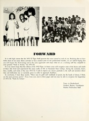 Page 7, 1972 Edition, Savannah State University - Tiger Yearbook (Savannah, GA) online yearbook collection
