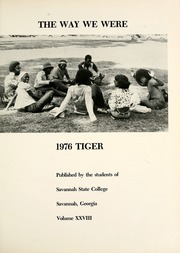 Page 5, 1976 Edition, Savannah State University - Tiger Yearbook (Savannah, GA) online yearbook collection
