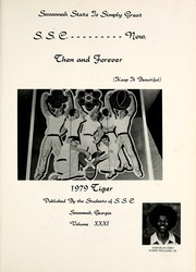 Page 5, 1979 Edition, Savannah State University - Tiger Yearbook (Savannah, GA) online yearbook collection
