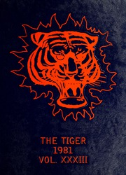 1981 Edition, Savannah State University - Tiger Yearbook (Savannah, GA)