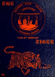 1982 Edition, Savannah State University - Tiger Yearbook (Savannah, GA)