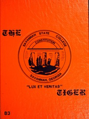 1983 Edition, Savannah State University - Tiger Yearbook (Savannah, GA)