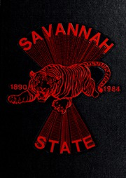 1984 Edition, Savannah State University - Tiger Yearbook (Savannah, GA)