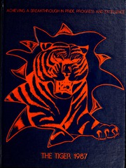 1987 Edition, Savannah State University - Tiger Yearbook (Savannah, GA)
