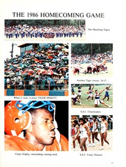 Page 17, 1987 Edition, Savannah State University - Tiger Yearbook (Savannah, GA) online yearbook collection