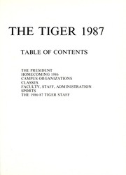 Page 5, 1987 Edition, Savannah State University - Tiger Yearbook (Savannah, GA) online yearbook collection