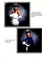 Page 8, 1987 Edition, Savannah State University - Tiger Yearbook (Savannah, GA) online yearbook collection