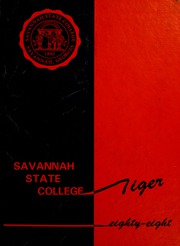 1988 Edition, Savannah State University - Tiger Yearbook (Savannah, GA)