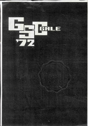 1972 Edition, Georgia Southwestern State University - Gale Yearbook (Americus, GA)