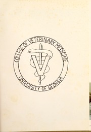Page 5, 1979 Edition, University of Georgia College of Veterinary Medicine - Veterinarius Yearbook (Athens, GA) online yearbook collection
