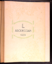 Page 5, 1929 Edition, Atlanta Southern Dental College - Asodecoan Yearbook (Atlanta, GA) online yearbook collection