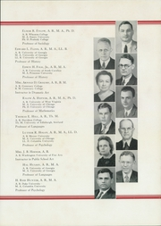 Page 15, 1937 Edition, University System of Georgia Evening School - Nocturne Yearbook (Atlanta, GA) online yearbook collection