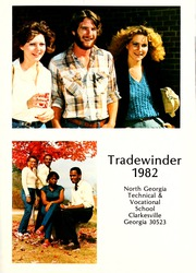 Page 5, 1982 Edition, North Georgia Technical College - Tradewinder Yearbook (Clarkesville, GA) online yearbook collection