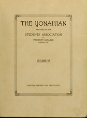 Page 5, 1925 Edition, Piedmont College - Yonahian Yearbook (Demorest, GA) online yearbook collection