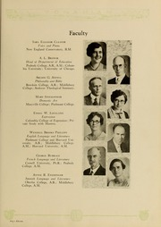 Page 15, 1929 Edition, Piedmont College - Yonahian Yearbook (Demorest, GA) online yearbook collection