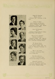 Page 16, 1929 Edition, Piedmont College - Yonahian Yearbook (Demorest, GA) online yearbook collection