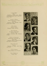 Page 17, 1929 Edition, Piedmont College - Yonahian Yearbook (Demorest, GA) online yearbook collection